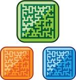 Vetor do labirinto Imagens de Stock Royalty Free