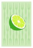 Vetor do limão Foto de Stock Royalty Free
