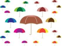 Vetor do logotipo do ícone do guarda-chuva da ilustração ilustração do vetor