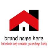 Vetor do logotipo da construção foto de stock