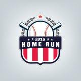 Vetor do logotipo da equipe de esporte do basebol Foto de Stock Royalty Free
