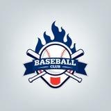 Vetor do logotipo da equipe de esporte do basebol Imagem de Stock