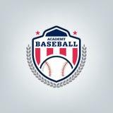 Vetor do logotipo da equipe de esporte do basebol Imagem de Stock Royalty Free