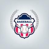 Vetor do logotipo da equipe de esporte do basebol Imagens de Stock