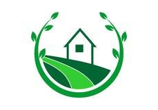 Vetor do logotipo da paisagem ilustração do vetor