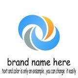 Vetor do logotipo de Abstact imagem de stock