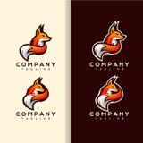 Vetor do logotipo do Fox ilustração royalty free