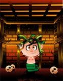 Vetor do Medusa de Halloween Foto de Stock Royalty Free