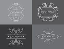 Vetor do molde do logotipo do vintage Imagens de Stock Royalty Free