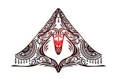 Vetor do mudra da ioga Imagens de Stock Royalty Free