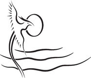 Vetor do pássaro Foto de Stock Royalty Free