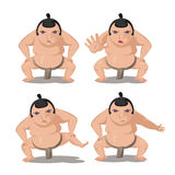 Vetor do personagem de banda desenhada da cultura de Japão do Suco Fotografia de Stock
