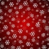 Vetor do projeto dos flocos de neve do Natal sem emenda Imagens de Stock Royalty Free