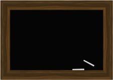 Vetor do quadro-negro com gizes ilustração do vetor