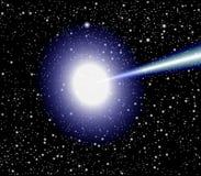 Vetor do quasar Fotos de Stock Royalty Free