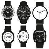 Vetor do relógio Fotografia de Stock
