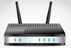 Vetor do roteador de Wi-Fi Imagem de Stock Royalty Free