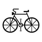 Vetor do símbolo da bicicleta Imagens de Stock Royalty Free