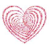 Vetor do símbolo do coração Imagem de Stock Royalty Free