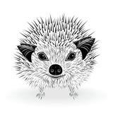 Vetor do símbolo do ouriço Imagens de Stock