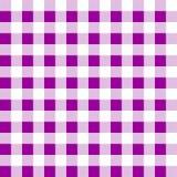 Vetor do tablecloth do piquenique do teste padrão Fotos de Stock