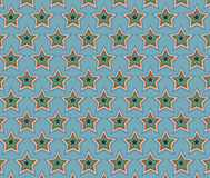 Vetor do teste padrão de estrela Foto de Stock Royalty Free