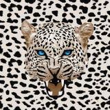 Vetor do teste padrão do leopardo Fotografia de Stock Royalty Free