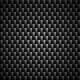 Vetor do teste padrão do preto de Kevlar do carbono Fotos de Stock Royalty Free