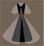Vetor do vestido de bola Foto de Stock Royalty Free