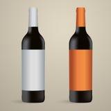Vetor do vinho Foto de Stock Royalty Free