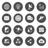 Vetor dos ícones das comunicações ilustração royalty free