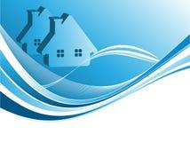 Vetor dos bens imobiliários Imagens de Stock Royalty Free