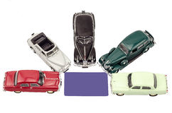 Vetor dos carros Foto de Stock Royalty Free