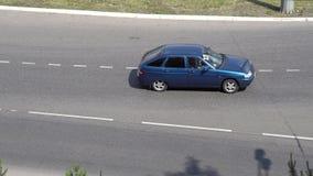 Vetor dos carros video estoque
