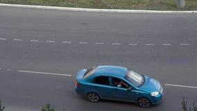 Vetor dos carros vídeos de arquivo