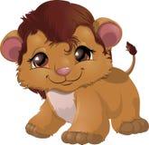 Vetor dos desenhos animados de Leon imagem de stock