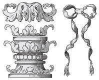 Vetor dos elementos do projeto ilustração do vetor