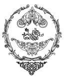 Vetor dos elementos do projeto Fotografia de Stock Royalty Free