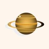 Vetor dos elementos do tema do planeta do espaço, eps Foto de Stock Royalty Free