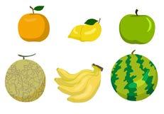 Vetor dos frutos Ilustração Royalty Free