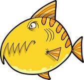 Vetor dos peixes do monstro ilustração do vetor