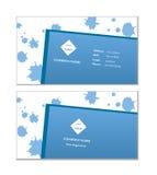 Vetor elegante do molde do cartão Fotografia de Stock Royalty Free