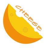 Vetor EPS10 do queijo Fotografia de Stock