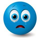 Vetor: Face de grito Imagem de Stock