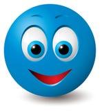 Vetor: Face feliz Imagens de Stock