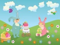 Vetor feliz de Easter Fotografia de Stock Royalty Free