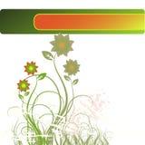 Vetor floral Imagens de Stock