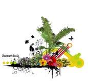 Vetor floral Fotos de Stock