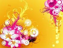 Vetor floral Fotos de Stock Royalty Free