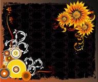 Vetor floral Fotografia de Stock